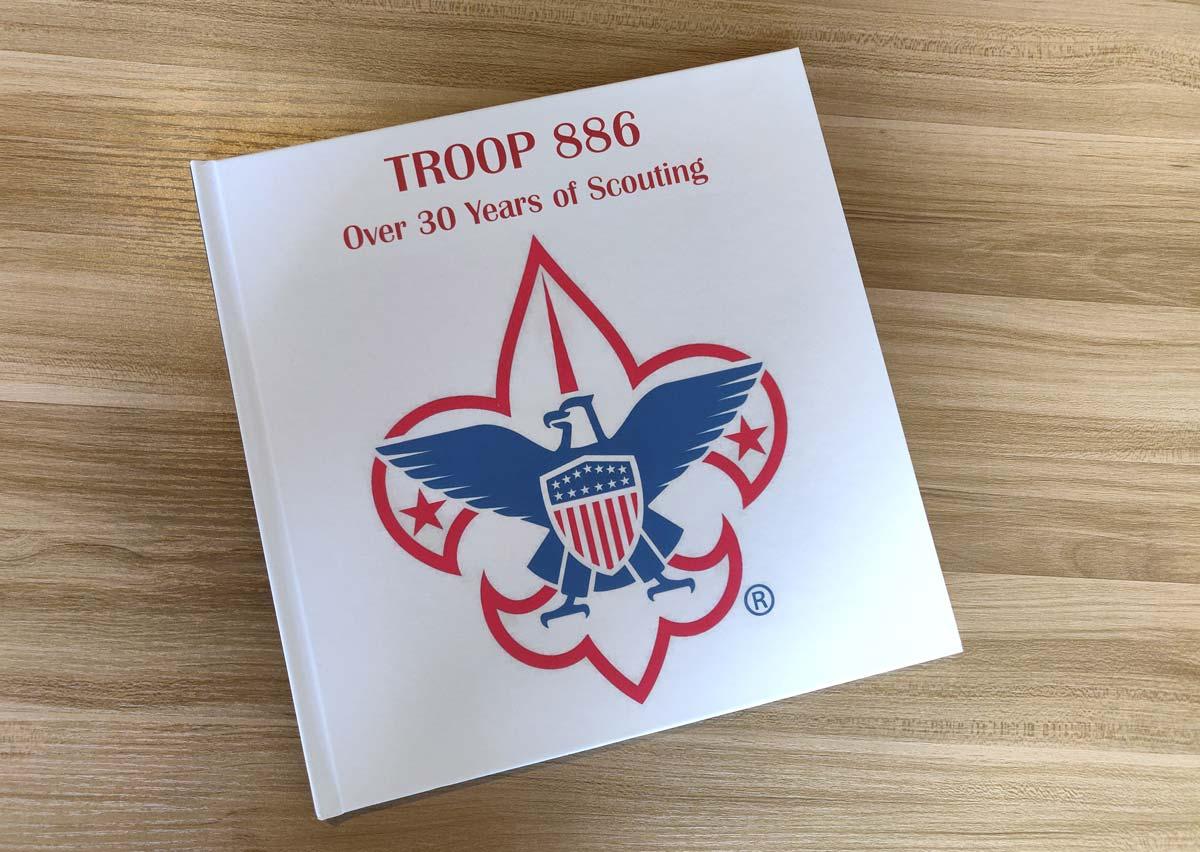Honoring Troop 886